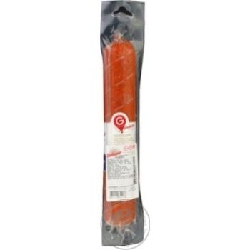 Ковбаса Глобино Сервелат варено-копчена вищого гатунку 460г - купити, ціни на CітіМаркет - фото 3