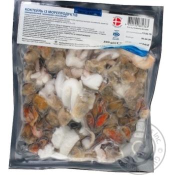 Коктейль Nordic Seafood из морепродуктов замороженный 300г - купить, цены на Восторг - фото 1