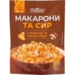 Pasta Pripravka mushrooms with taste of cheese ready-to-cook 150g