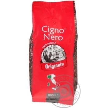 Coffee Cigno nero in grains 1000g - buy, prices for MegaMarket - image 1
