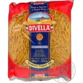 Макаронні вироби Divella Spaghetti Tagliati 69 500г