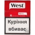Сигареты West Red XL пачка