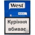 Сигареты West Original Blend Blue 25шт