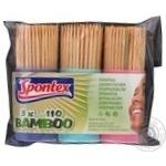 Зубочистки Spontex 3x100шт