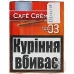 """Сигари CAFE CREME FILTER 03 CREAM8"""" - купить, цены на Novus - фото 1"""