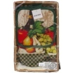Набор кухонный Оселя Ассорти прихватка+перчатка+полотенце