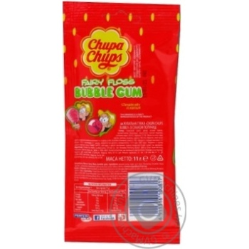 Chewing gum Chupa chups strawberries with cream 11g - buy, prices for Tavria V - image 2