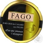 Fago with figs canned liver pate 180g