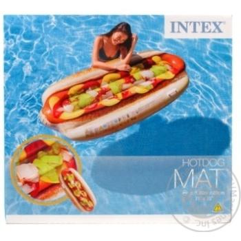 Матрац надувной Intex Хот-дог 180*89см
