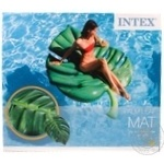 Матрац надувний Intex у формі листя, 213X142см