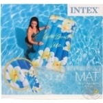 Матрац надувной Intex с цветами 178*84см