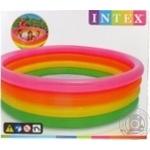 Басcейн надувной Intex 168*46см