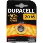 Батарейка Duracell CR2016 1шт
