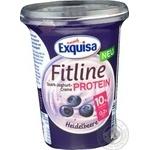 Крем-йогурт Exquisa з чорницею 11% 400г