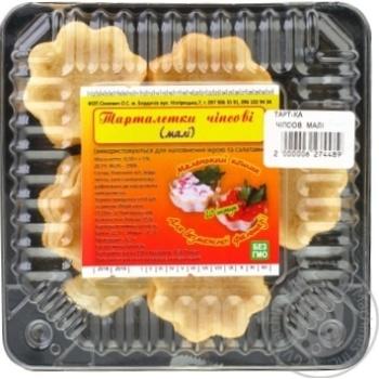 Тарталетки чипсовые маленькие 20шт 50г - купить, цены на Ашан - фото 1