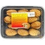 Печиво Шишка пісочне зі згущеним молоком 270г - купити, ціни на Ашан - фото 1