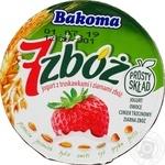 Йогурт Bakoma 7 злаков клубника  2.5% 140г