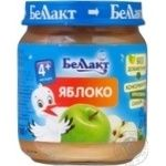 Puree Bellakt with apple sugar free for children from 4 months 100g