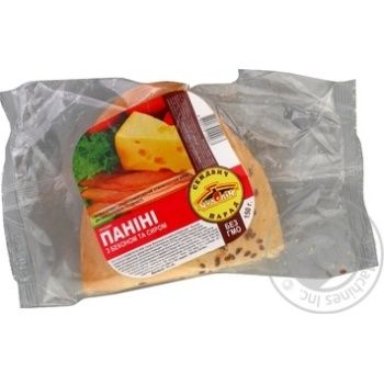 Chudo-Pich Panini with bacon and cheese 150g - buy, prices for Auchan - photo 2