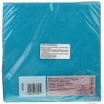 Салфетки Actuel бумажные двухслойные синие 20шт 33x33см - купить, цены на Ашан - фото 2