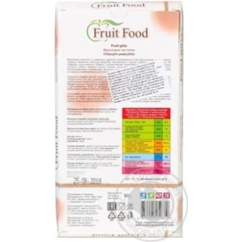 Фруктовая пастила Fruit food из яблок 90г - купить, цены на Ашан - фото 2