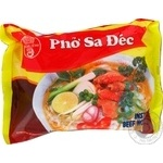 Pasta noodles Bich chi rice with beef ready-to-cook 60g Vietnam