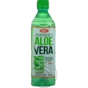 Напиток OKF на основе алоэ вера безалкогольный негазированный 0,5л - купить, цены на Метро - фото 3
