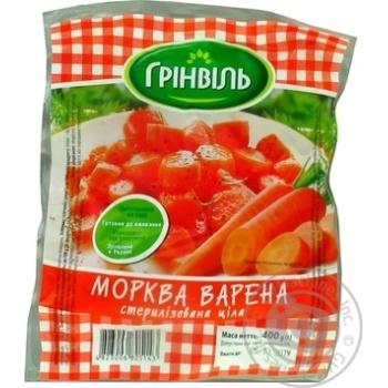 Vegetables carrot Greenvil boiled 400g