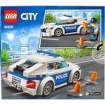 Конструктор Lego Полицейское патрульное авто 60239 - купить, цены на Ашан - фото 4