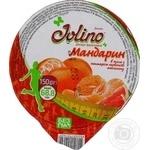 Десерт фруктовый Джолино Мандарин в желе с нектаром красного апельсина 150г