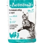 Food Leopold vegetable for cats 500g