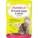 Food Leopold meat for cats 85g