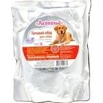 Food Leopold liver for dogs 500g