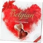 Belgian Chocolate Hearts Candies 200g
