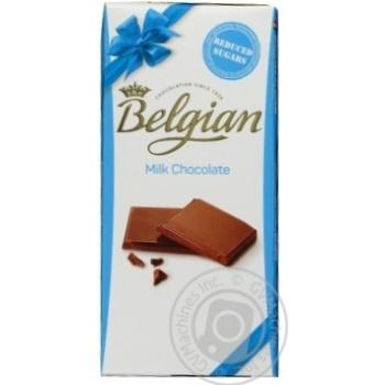 Шоколад молочный Belgian 100г