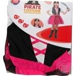 Костюм One Two Fun Пират детский для девочки