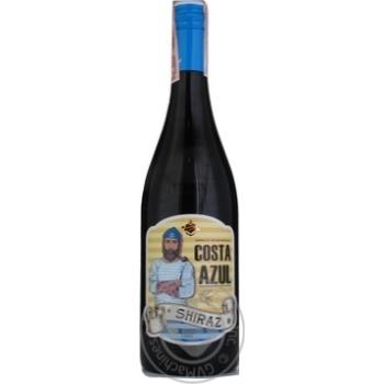 Costa Azul Lozano Shiraz 2018 Red Dry Wine 13% 0,75l - buy, prices for CityMarket - photo 1