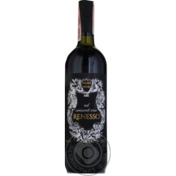 Renesso Vino Rosso Semisweet red wine 10,5% 0,75l