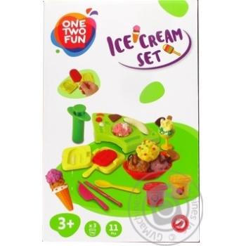 Набор One Two Fun для лепки мороженого