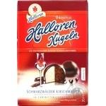 Конфеты Halloren Kugeln Original шоколадные со вкусом лесной вишни 125г