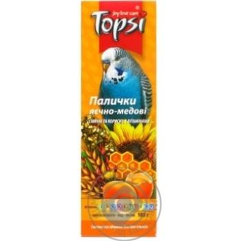 Topsi Super Sticks Food for Parrots 100g
