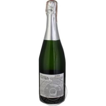 Вино ігристе Cola de Cometa Cava біле брют 11,5% 0,75л - купити, ціни на Ашан - фото 2