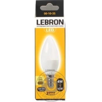 LED Л-А LEBRON L-С37 4W Е14 3000K