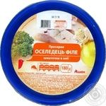 Auchan Preserves Herring fillet pieces in oil 180g
