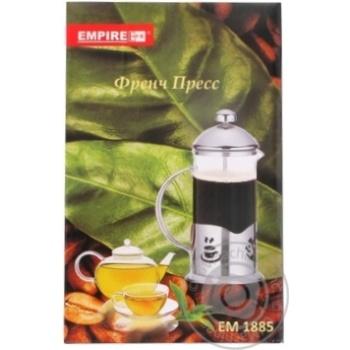 Teapot Vivalex metallic for tea 350ml