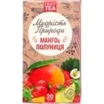 Чай фруктовый Мудрость природы Манго-Клубника в пакетиках 20шт*2г