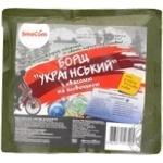 Борщ SmaCom Украинский с фасолью и говядиной 500г