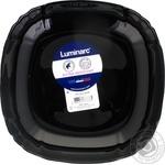 Luminarc Lotusia Black Soup Plate 20,5cm
