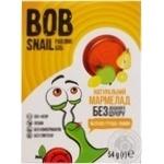 Мармелад Bob Snail яблоко-лимон-груша без сахара 54г