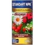 Добриво Standart NPK органо-мінеральне універсальне 0,5л